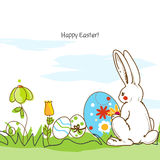 Easter scene Stock Images