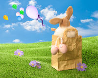 Easter Scene Royalty Free Stock Photos