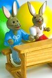 Easter scene Stock Images