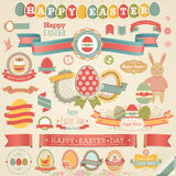 Easter scrapbook set. Royalty Free Stock Images
