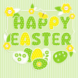 Easter in scrapbook style Royalty Free Stock Images