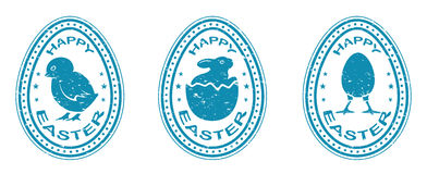 Easter seal Royalty Free Stock Photography