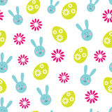 Easter seamless background Royalty Free Stock Photos
