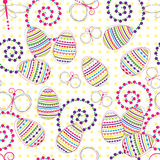 Easter seamless background Stock Images