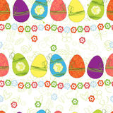 Easter seamless background Stock Photo