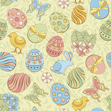 Easter seamless background Royalty Free Stock Images