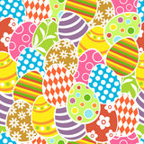 Easter seamless background Stock Photos