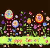 Easter seamless border Royalty Free Stock Photography