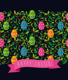 Easter seamless pattern Stock Photo
