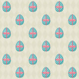 Easter seamless pattern with Easter eggs 2 Stock Image
