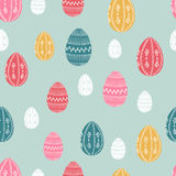 Easter seamless pattern Stock Photography