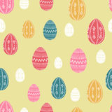 Easter seamless pattern Royalty Free Stock Photography