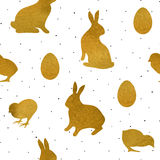 Easter Seamless Pattern1 Royalty Free Stock Photos