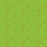 Easter seamless pattern on green background Stock Photo