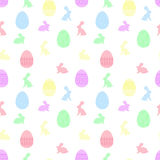 Easter seamless pattern Royalty Free Stock Images
