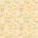 Easter seamless pattern Stock Photos