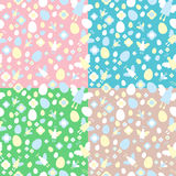 Easter seamless pattern Stock Images