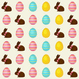 Easter seamless vector pattern Stock Photos