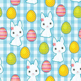 Easter seamless vector pattern Stock Photography