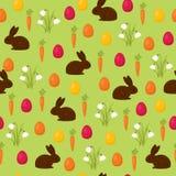 Easter seamless wallpaper Stock Photos