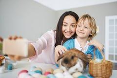 Easter selfie Royalty Free Stock Photos