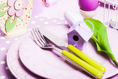 Easter serving Royalty Free Stock Images