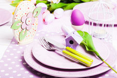 Easter serving Royalty Free Stock Photography