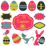 Easter set Stock Image