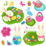 Easter set Stock Photo