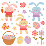 Easter set Royalty Free Stock Image