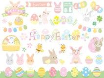 Easter set royalty free illustration