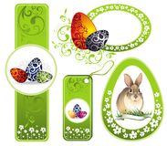 Easter set of design elements for your design Royalty Free Stock Image