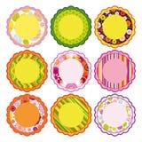 Easter set of Frame, design elements. Easter set of Frame, design elements - an illustration for your design project Stock Photo