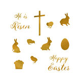 Easter Set2 Royalty Free Stock Images