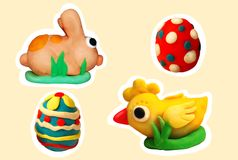 Easter set Royalty Free Stock Photography