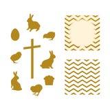 Easter Set1 royalty free illustration