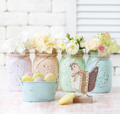 Easter shabby chic. Stock Photography