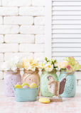 Easter shabby chic. Royalty Free Stock Images