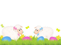 Easter sheep Stock Photos