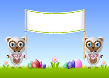 Easter sheep Stock Image