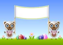 Easter sheep stock image