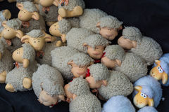 Easter sheeps. royalty free stock photos
