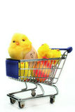 Easter shopping Stock Photo