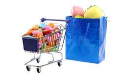 Easter shopping Stock Photos