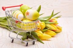 Easter shopping. Stock Photos