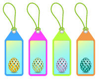 Easter shopping tags Royalty Free Stock Photography