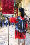 Easter in Sicily, Holy Friday - Our Lady in Procession  - Centurione - Italy Royalty Free Stock Images