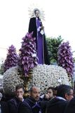 Easter in Sicily, Holy Friday - Our Lady in Procession - Italy Stock Photography