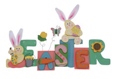 Easter Sign Stock Photography