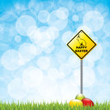 Easter sign Royalty Free Stock Photography